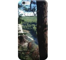 Overlook off the Beaten Path, Shadow Sketches iPhone Case/Skin