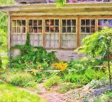 The Garden At Juniata Crossings by Lois  Bryan