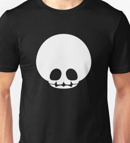 Toad Skull - White Unisex T-Shirt