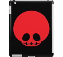 Toad Skull - Red iPad Case/Skin