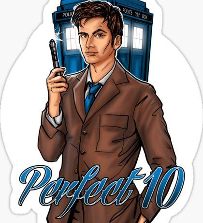Perfect 10 Sticker