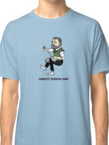 """Earnestly Hemming Away"" Classic T-Shirt"
