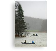 First Day Of Trout Season Canvas Print