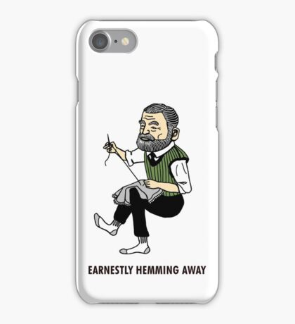 """Earnestly Hemming Away"" iPhone Case/Skin"