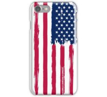 American Flag painted style iPhone Case/Skin