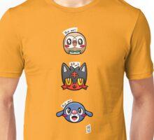 Alola starters  Unisex T-Shirt