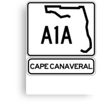 A1A - Cape Canaveral Canvas Print