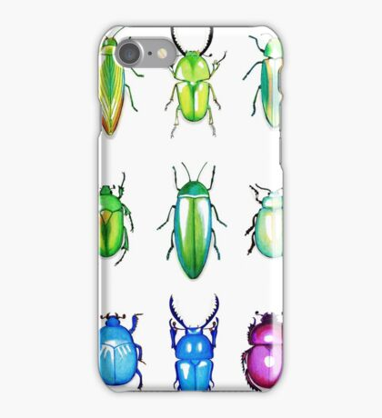Metallic Beetles iPhone Case/Skin