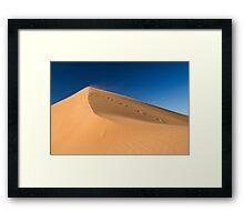 Desert Dune Framed Print