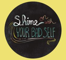 Shine On With Your Bad Self One Piece - Short Sleeve