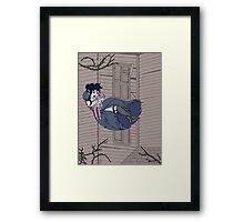 Vampire Saloon Girl Framed Print