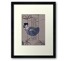 Vampire Saloon Girl Framed Print