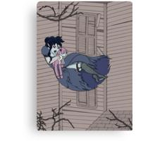Vampire Saloon Girl Canvas Print