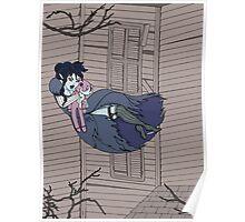 Vampire Saloon Girl Poster