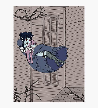 Vampire Saloon Girl Photographic Print