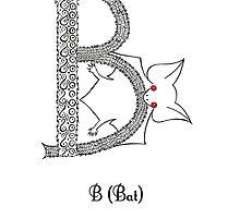 B is for Bat by Cat-Igrun