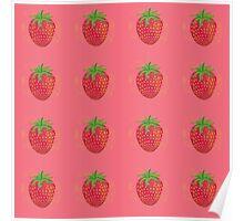 Sweet Strawberries! Poster