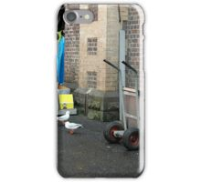 Behind the fish market iPhone Case/Skin