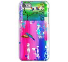 Hummingbird Collage iPhone Case/Skin