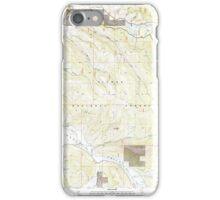USGS TOPO Map California CA Squaw Valley Peak 101178 1994 24000 geo iPhone Case/Skin
