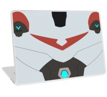The Red Paladin Laptop Skin
