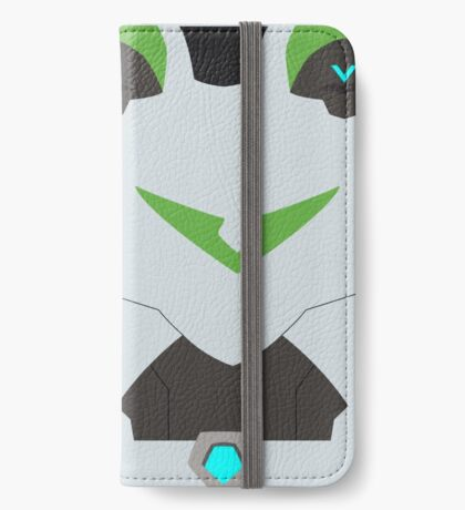 The Green Paladin iPhone Wallet/Case/Skin
