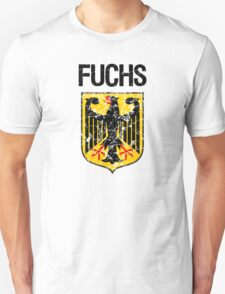 Fuchs Surname German T-Shirt