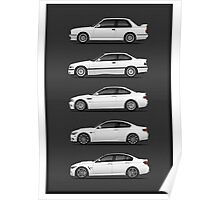 BMW THE EVOLUTION  Poster