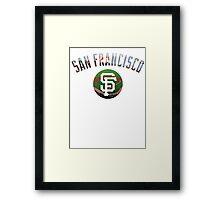 San Francisco Giants Stadium Color Framed Print