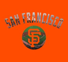 San Francisco Giants Stadium Color by Josh Eisenmann