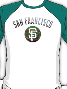 San Francisco Giants Stadium Color T-Shirt