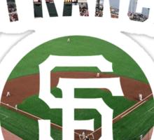 San Francisco Giants Stadium Color Sticker