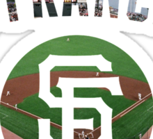 San Francisco Giants Stadium Color Sticker