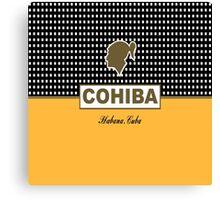 COHIBA HABANA CUBA CIGAR Canvas Print