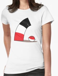 Polandball - Poland's Anschluss Womens Fitted T-Shirt