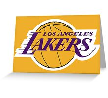 Los Angeles Lakers | Sports Greeting Card
