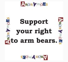 Support Your Right - Anonymous Kids Tee