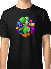 Yoshi Rules! Classic T-Shirt