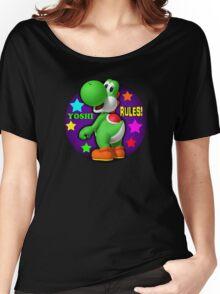 Yoshi Rules! Women's Relaxed Fit T-Shirt