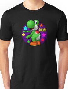 Yoshi Rules! Unisex T-Shirt