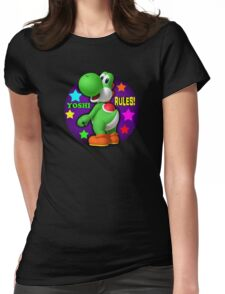 Yoshi Rules! Womens Fitted T-Shirt