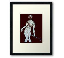 Silent Hill Nurse Framed Print