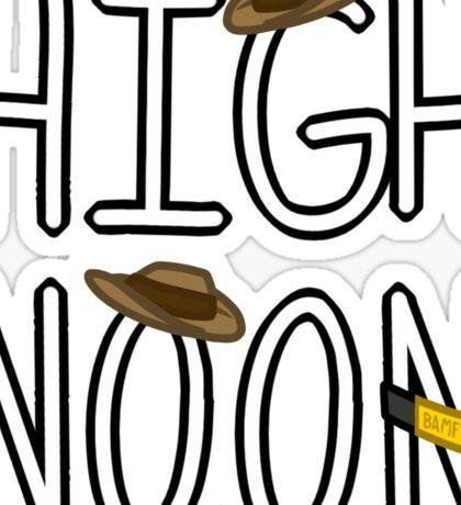 High Noon  Sticker