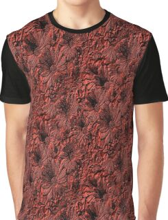 African Daisy Flowers Pattern Graphic T-Shirt