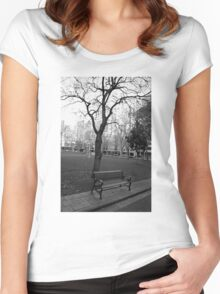 Empty Women's Fitted Scoop T-Shirt