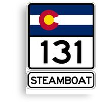 CO-131 - Steamboat Springs, Colorado Canvas Print