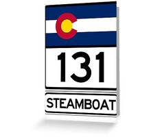 CO-131 - Steamboat Springs, Colorado Greeting Card
