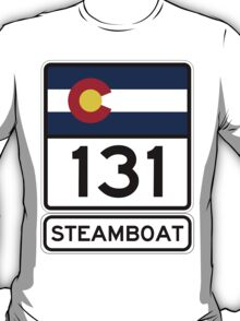 CO-131 - Steamboat Springs, Colorado T-Shirt