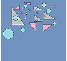 Triangle Emptiness Photographic Print