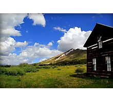 Boreas Pass Hut Photographic Print